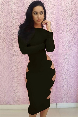 BodyCon - Black Hole Dress