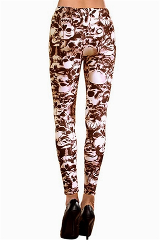 Leggings - Skulls
