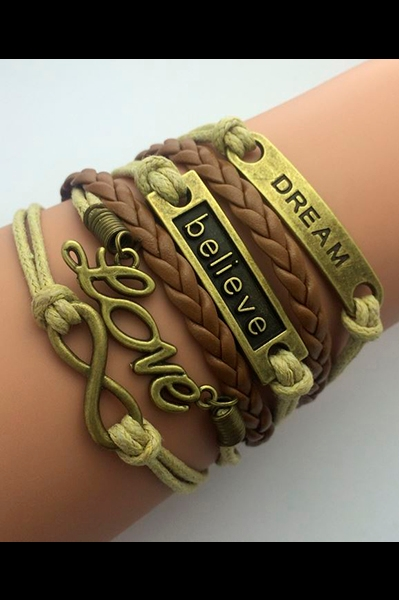 Armbånd -  Dre-Be-Love