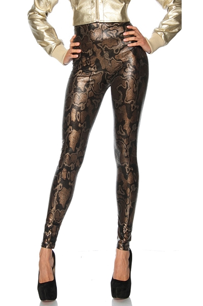 Leggings Shiny Snake